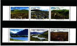 IRELAND/EIRE - 2011  IRELAND'S  NATIONAL PARKS  TWO STRIPS  SET  MINT NH - Blocchi & Foglietti