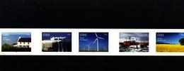IRELAND/EIRE - 2011  RENEWABLE  ENERGY  SELF ADHESIVE  SET  MINT NH - Blocchi & Foglietti
