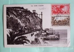 20098# ITALIE MARCHE SUR ROME CARTE Obl GRIMALDI 1933 Pour MEAUX SEINE ET MARNE ITALIA - 1900-44 Vittorio Emanuele III