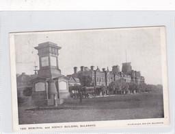 RHODESIA. MEMORIAL AND AGENCY BUILDING, BULAWAYO. ELLIS ALLEN. CIRCULEE 1907 A ENGLAND-RARE-TBE- BLEUP - Zimbabwe