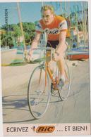 Sport  Cyclisme - Vélo : Jan   Janssen  , De  Bic , Signée - Cycling