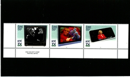 IRELAND/EIRE - 2011  50th ANNIVERSARY OF THE FIRST TV BROADCAST  STRIP  SET  MINT NH - Blocchi & Foglietti