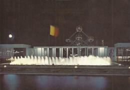 Place Et Portique De Belgique, La Nuit (45-1.321) - Universal Exhibitions
