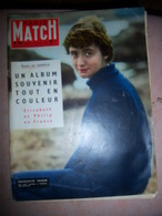 Paris Match N°420 Du 27/04/1957 Sagan Makarios Athènes Élizabeth Montesi - Informations Générales