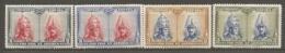 ESPAGNE - Yv. N° 339,339a,340,340a  *  2c,3c Catacombes, Série De Tolède Cote 1,5 Euro BE   2 Scans - 1889-1931 Kingdom: Alphonse XIII