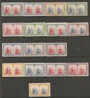 ESPAGNE - Yv. N° 339 à 352 Complet  *  Catacombes, Série De Tolède Cote 36,15 Euro BE   2 Scans - 1889-1931 Kingdom: Alphonse XIII
