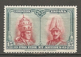 ESPAGNE - Yv. N° 343  *  15c Catacombes, Série De Tolède Cote 5,25 Euro BE   2 Scans - 1889-1931 Kingdom: Alphonse XIII