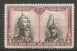 ESPAGNE - Yv. N° 365  *  4p   Catacombes, Série De Santagio Cote 6,75 Euro BE   2 Scans - 1889-1931 Kingdom: Alphonse XIII