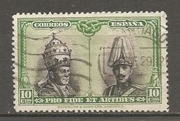 ESPAGNE - Yv. N°  ,356  (o)  10c   Catacombes, Série De Santagio Cote 1,35 Euro BE   2 Scans - 1889-1931 Kingdom: Alphonse XIII