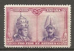 ESPAGNE - Yv. N°  ,358  *  25c   Catacombes, Série De Santagio Cote 5,25 Euro BE   2 Scans - 1889-1931 Kingdom: Alphonse XIII