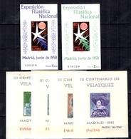 Espagne Blocs-feuillets YT N° 19/24 Neufs ** MNH. TB. A Saisir! - Blocks & Sheetlets & Panes
