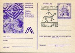 40129 Austria,special Stationery + Postmark 1979 Spital Am Pyhrn,showing Rock Painting,hohlenmalereien,rupestres - Vor- Und Frühgeschichte