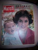 Paris Match N°480 21/06/1958 Football Suède Gina Lollobrigida Renoir Courteline - Informations Générales