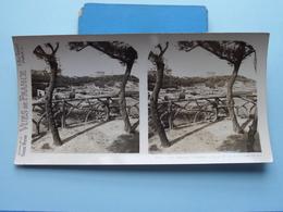 BIARRITZ : L'Attalaye Et Le P. Des Pécheurs ... : S. 52 - 3362 ( Maison De La Bonne Presse VUES De FRANCE ) Stereo Photo - Stereoscopic
