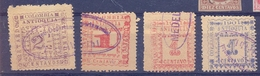 Colombia  4 Old Stamps  Antioquia  Fine Used   Used - Colombie
