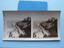 BIARRITZ : La Perspective Miramar : S. 53 - 3367 ( Maison De La Bonne Presse VUES De FRANCE ) Stereo Photo - Stereoscopic