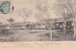 RHODESIA. VICTORIA FALLS HOTEL. E PETERS. CIRCULEE 1906 A LONDON-RARE- BLEUP - Zimbabwe