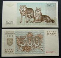 Lituania 500 Talonu 1993 UNC FdS Lietuva Lithuania - Lituania