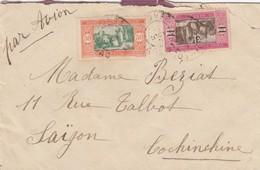 LETTRE SENEGAL. 9 AOUT 1930 . PAR AVION. DAKAR POUR SAIGON INDOCHINE - Senegal (1887-1944)