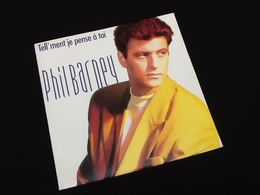 Vinyle 45 Tours  Phil Barney  Tell'ment Je Pense à Toi (1990) - Vinyles