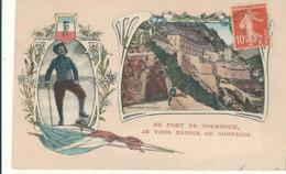 04 // Du Fort De TOURNOUX, Je Vous Envoie Ce Souvenir / CHASSEURS ALPINS - France