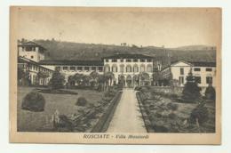 ROSCIATE - VILLA MASCIARDI  VIAGGIATA FP - Bergamo
