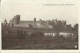 CPA De CARCASSONNE - La Cité, Côté Nord (Marque Etoile N°7). - Carcassonne