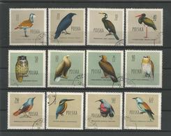 Poland 1960 Birds Y.T. 1070/1081 (0) - 1944-.... Republic
