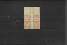 Lot 4 Timbres Neufs Xx Type Sage Millésimés Signés N° 94 ( Sans Millésime) - Millesimes