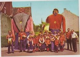 CHROMO FOLKLORE EN BELGIQUE & LUXEMBOURG VEGE ALBUM N° 3 N° 661 HEIST SUR MER GEANTS GEANT REUZEN 13 X 9 CM - Chromos