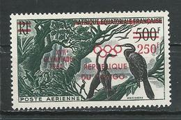 CONGO  Scott C1 Yvert PA1 (1) *LH Cote 7,50 $ 1960 - Congo - Brazzaville