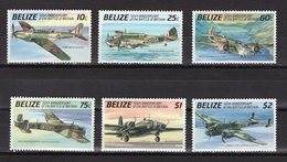 BELIZE - 1990 The 50th Anniversary Of The Battle Of Britain - Airplanes  M440 - Belize (1973-...)
