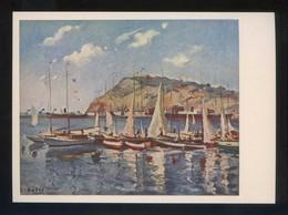 *Jaime Oates - Puerto...* Ed. Artigas. Pintores Esp. Contemporáneos Col. B Serie 1005. Nueva. - Pintura & Cuadros
