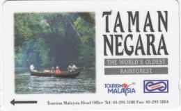 MALAYSIA(GPT) - Taman Negara, CN : 23UTCF/B, Tirage 80000, Used - Malaysia