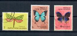 PAPUA NUOVA GUINEA - FARFALLE - USATI - Papua Nuova Guinea