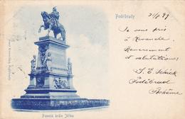 632/ Podebrady, 1899, Pomnik Krale Jiriho - Tsjechië