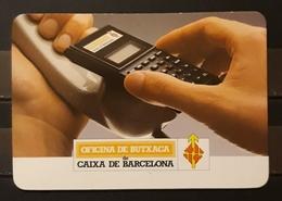 1998. CALENDARIO CAIXA DE BARCELONA - OFICINA DE BUTXACA. - Calendarios