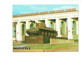 Cpm - Волгогра́д  - Volgograd Ville En Russie - Char Tank T-34 - - Russia