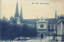PAU , Eglise Saint Jacques - Pau