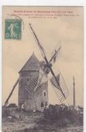 Côte-d'Or - Moulin à Vent De Montceau XIIe Siècle - France