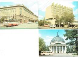 LOT 3 Cpm - Волгогра́д -  Volgograd Ville En Russie - Autobus Car Camion - Russia
