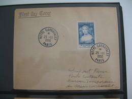 FDC  1950  N° 874 Madame De Sévigné   à Voir - 1950-1959