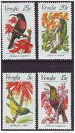 D90819 Venda South Africa 1981 PROTECTED SUN BIRDS MNH Set - Afrique Du Sud Afrika RSA Sudafrika - Venda