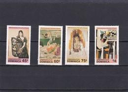 Dominica Nº 716 Al 719 - Dominica (1978-...)