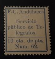 Guerra CivilCivil Telegrafos Andaluces - Spanish Civil War Labels