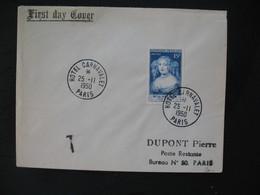 FDC  1950  N° 874 Madame De Sévigné  Taxée  à Voir - FDC