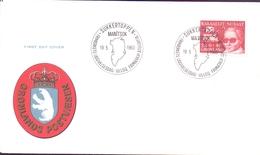 GROENLAND  MANI'TSOK   FDC  POSTVAESEN (NOV180160) - Groenlandia