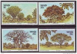 D90819 Venda South Africa 1982 INDIGENOUS TREES BAOBAB MNH Set - Afrique Du Sud Afrika RSA Sudafrika - Venda