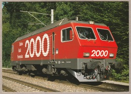SBB CFF Re 4/4  IV - Bahn Rail Ferrovia 2000 - Trains