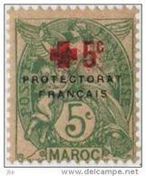 Maroc (Protectorat Français) - Croix-rouge - N° YT 59 Neuf **. - Morocco (1891-1956)